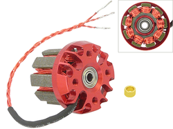 Oversky - Winded Stator for Main Brushless Motor: 1.5mm Shaft, 2S - 8200KV - Trex 150 DFC
