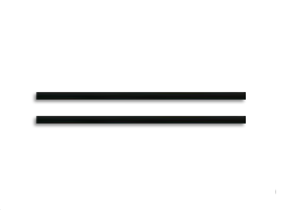 Ø1.5x41mm Carbon Rod Set - Blade mSR X