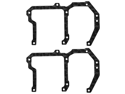 Rakonheli CNC Carbon Fiber Side Frame Set
