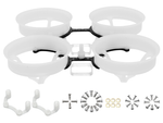 Rakonheli 1S Delrin Carbon 66mm Brushless Whoop Kit (for SunnySky 0703, 0705 Motor)