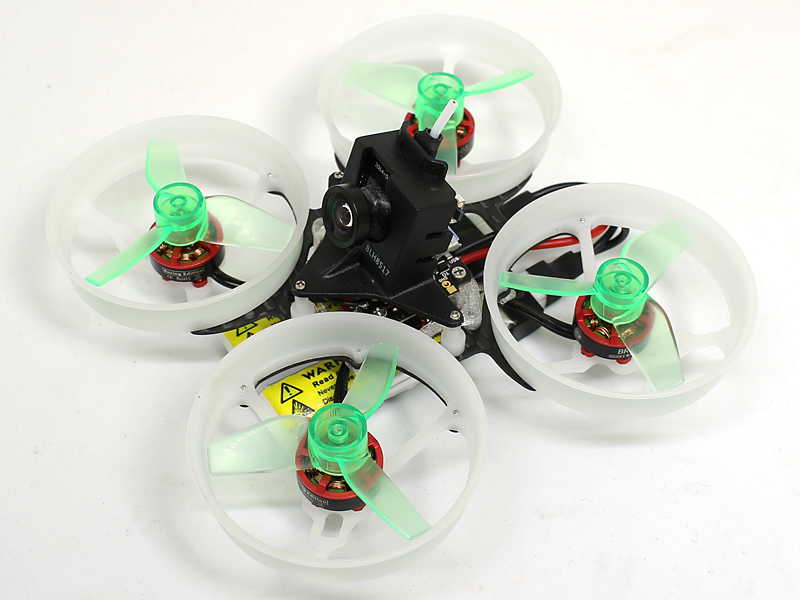 Rakonheli 1S, 2S Delrin Carbon 76mm Brushless Whoop Kit (for 1103, SunnySky 0705 Motor)