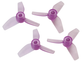 Rakonheli 31mm 3 Blade Transparent Propeller (2CW+2CCW; 1.0mm Shaft)
