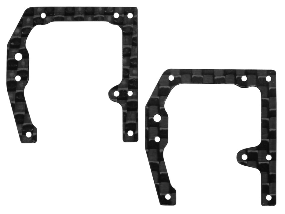 Rakonheli CNC Carbon Side Frame Set (for mCPS452/454)