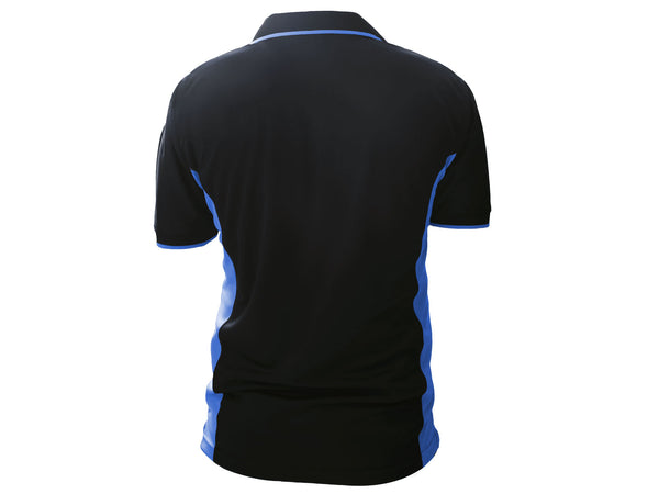 Rakonheli Men's Sport T-Shirt (Black-Blue)