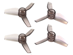 Rakonheli 40mm 3 Blade Transparent Propeller (2CW+2CCW; 1.5mm Shaft)