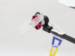 Rakonheli 42mm Transparent Plastic Tail Blade (1.4mm Shaft) - Trex 150/X DFC
