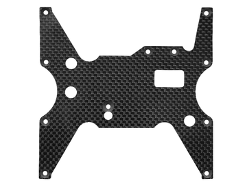 Rakonheli CF Lower Middle Chassis Plate (1) - LOSI 1/8 LST XXL2-E