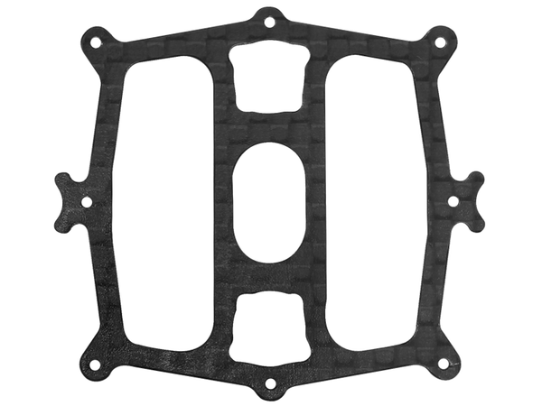 Rakonheli CNC 3K Pure Carbon Fiber Battery Tray (1)