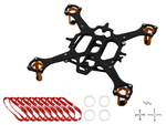 Rakonheli CNC 90mm Quadcopter Kit (6mm Motor) - RKH 90RQX