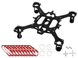 Rakonheli CNC 90mm Quadcopter Kit (7mm Motor) - RKH 90RQX