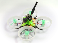 Rakonheli CNC Delrin and Carbon 64mm Ducted Quad X Kit (6mm Motor) - Blade Inductrix/FPV, RKH 64DQX