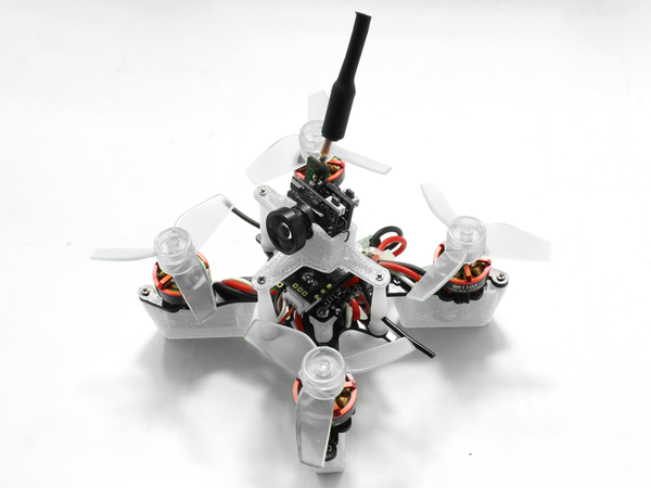 Rakonheli CNC Delrin and Carbon 66mm Ducted Quad X Kit (Brushless Motor) - RKH 66DQX