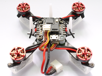 Rakonheli CNC Delrin and Carbon 80mm Ducted Quad X Kit (Brushless Motor) - RKH 80DQX