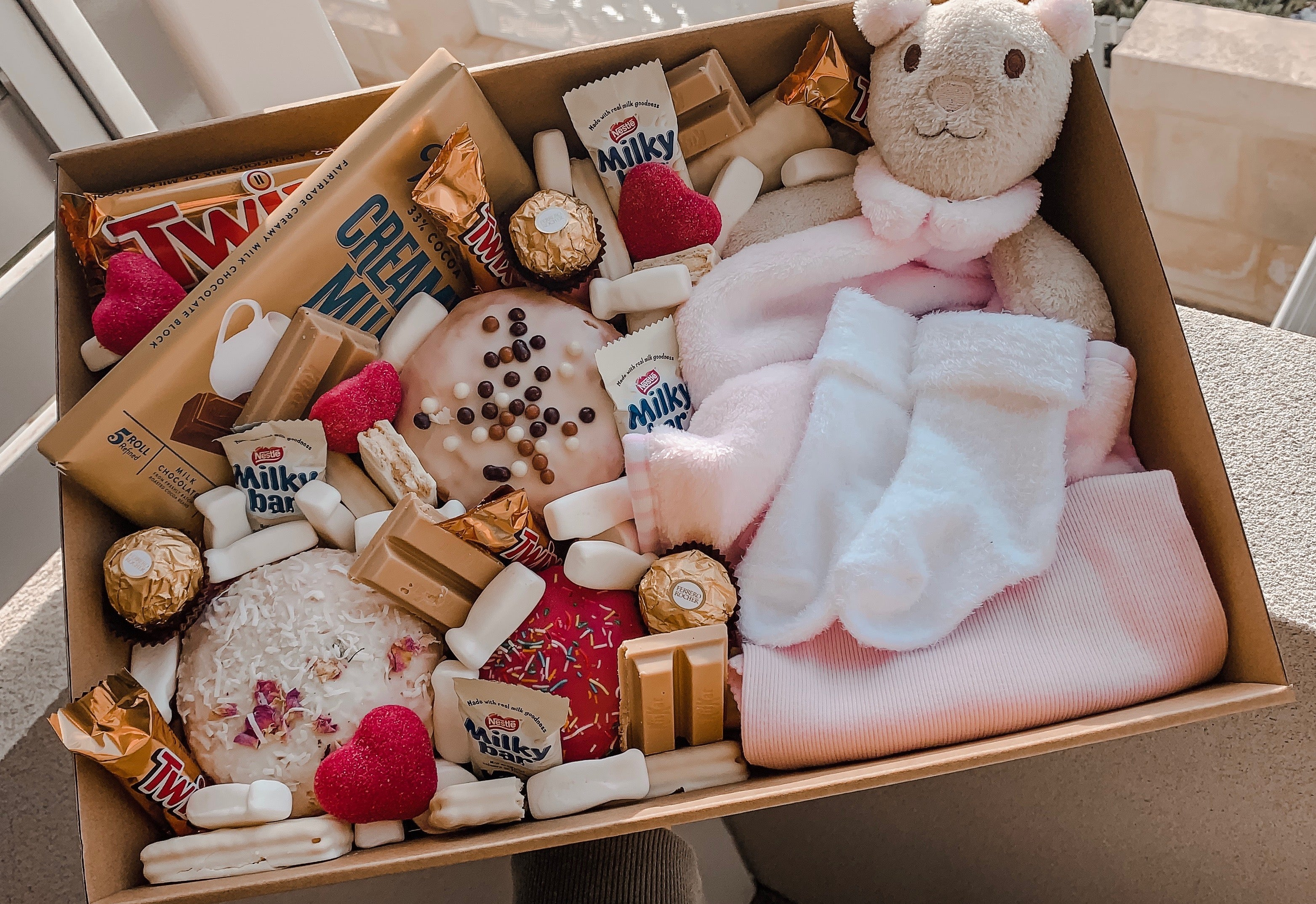 Load image into Gallery viewer, Baby Girl Box - Sugar Coat It - Perth Dessert Boxes