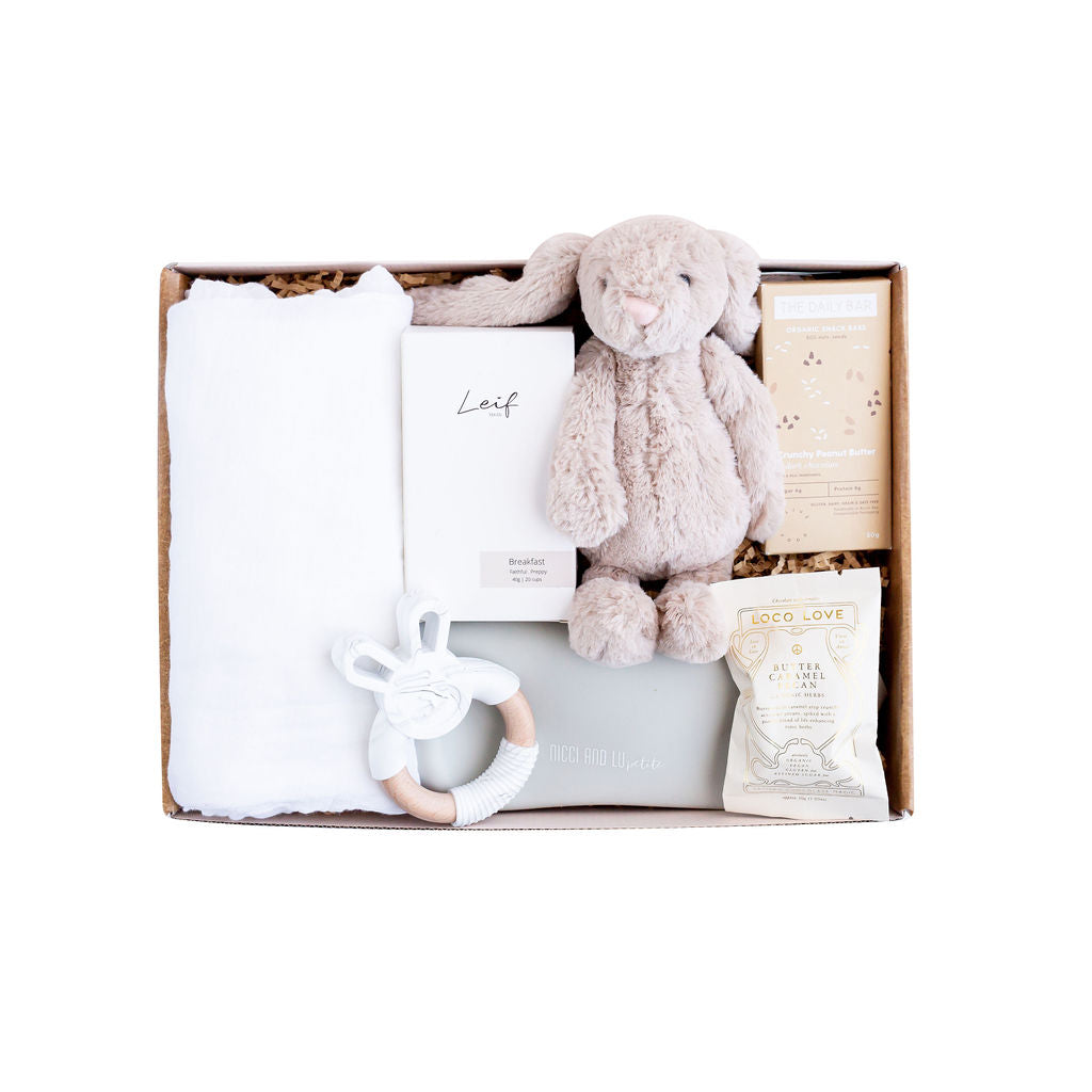 Load image into Gallery viewer, Neutral Baby Hamper - Sugar Coat It - Perth Dessert Boxes