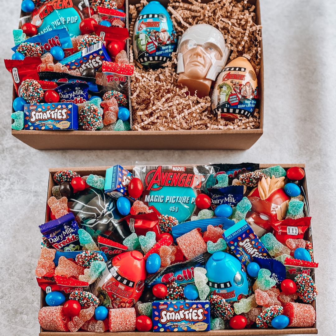 Load image into Gallery viewer, Avengers box (AUS WIDE) - Sugar Coat It - Perth Dessert Boxes