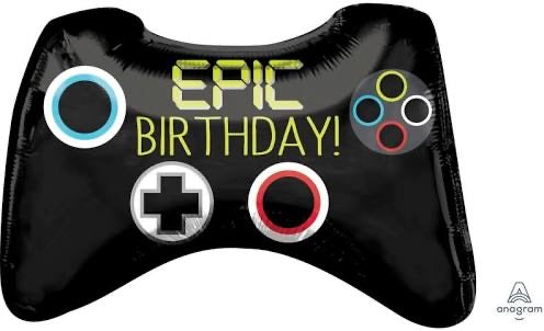 Load image into Gallery viewer, Epic Birthday Game Controller Balloon (it's Big) - Sugar Coat It - Perth Dessert Boxes