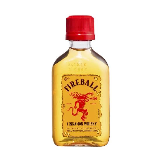Load image into Gallery viewer, 50ml Fireball (Cinnamon Whisky) - Sugar Coat It - Perth Dessert Boxes