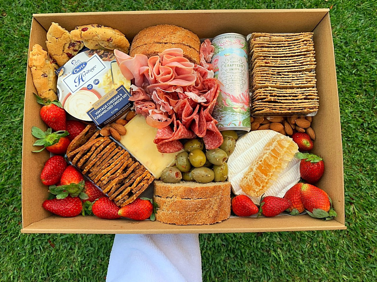 Savoury box + Sparkling - Sugar Coat It - Perth Dessert Boxes