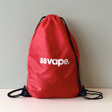 88Vape Drawstring Bag