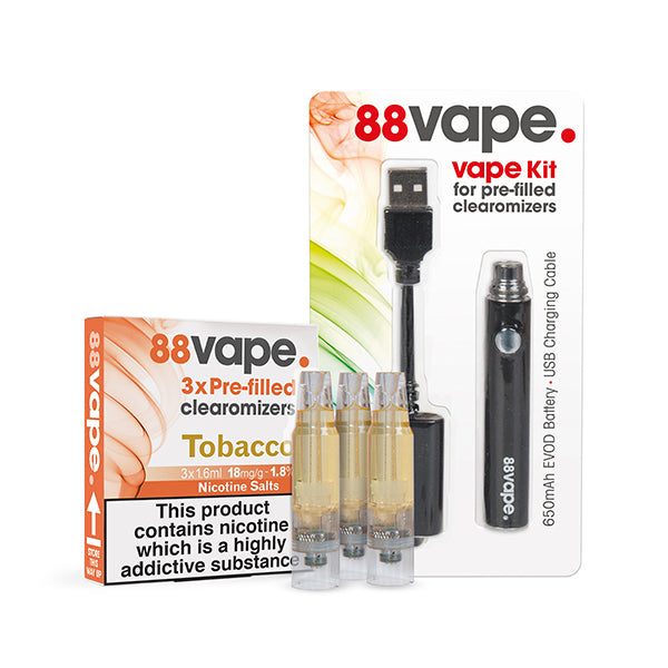 88Vape Pre-Filled Vape Starter Kit