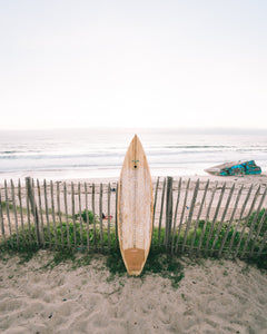 Custom Wooden Surfboard