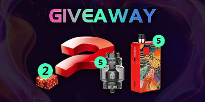 New Giveaway! No matter what you want, we will send you!