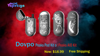 DOVPO Peaks Pod Kit | A Great Review Kit
