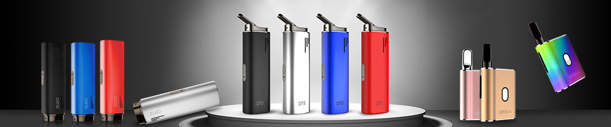 Airis(Airistech) specializes in manufacturing Oil vaporizers, Wax vaporizers and Dry Herb Vaporizers. There are Mystica series, Herborn series, Switch and other series of vaporizers. Enjoy fame in vapers.