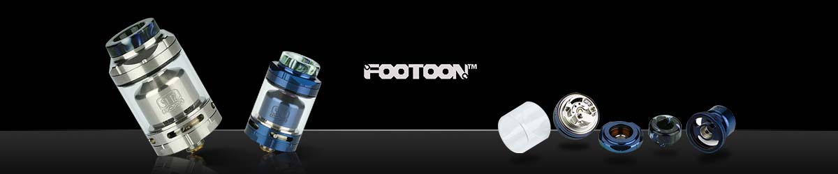 Footoon | Focuses Atomizers Production, RTA, RDA, RDTA, TANK