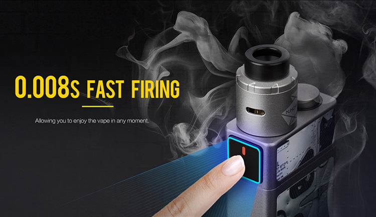 Uwell Blocks Squonk 90W Kit with Nunchaku RDA 0.008s Fast Firing