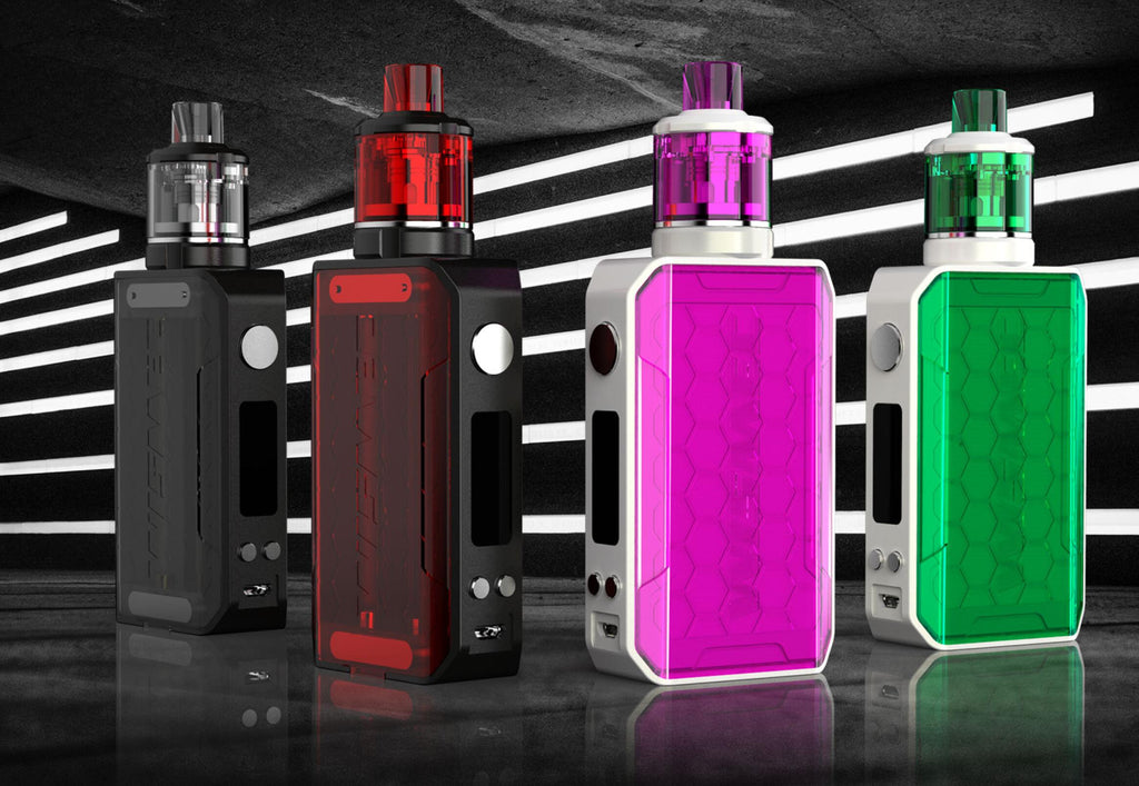 WISMEC SINUOUS V200 200W TC mod Kit 4 Colors Available