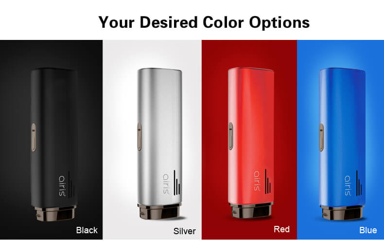 4-color Airistech Herborn Dry Herb Vaporizer