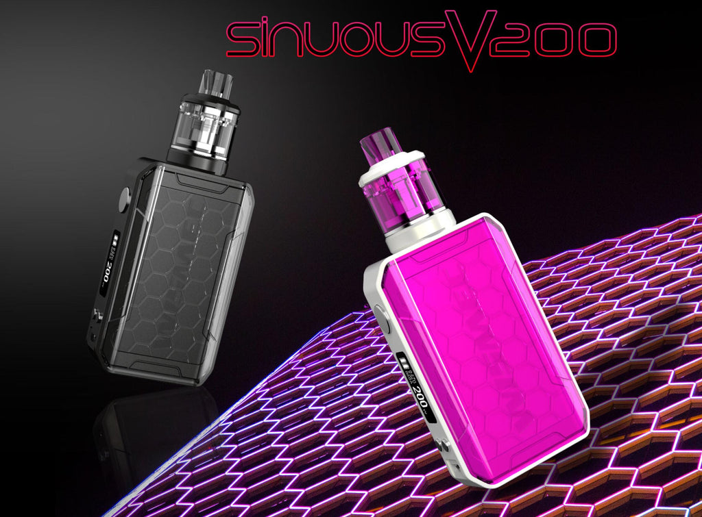 WISMEC SINUOUS V200 200W TC Mod Kit