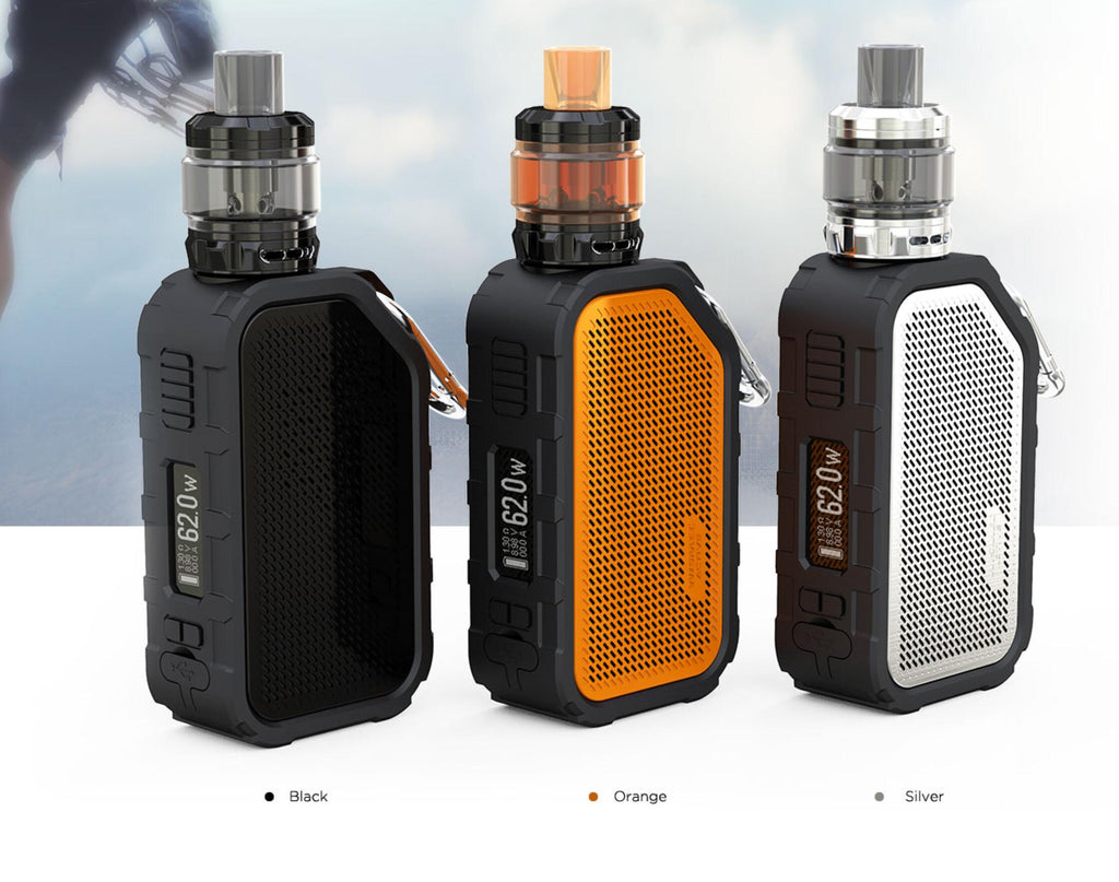 WISMEC Active Bluetooth Music TC Kit with Amor NSE 2100mAh 3 Colors Display