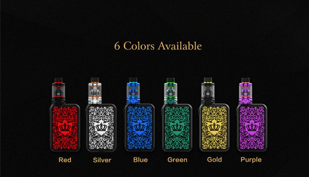 Uwell Crown 4 IV Kit 6 Colors Available