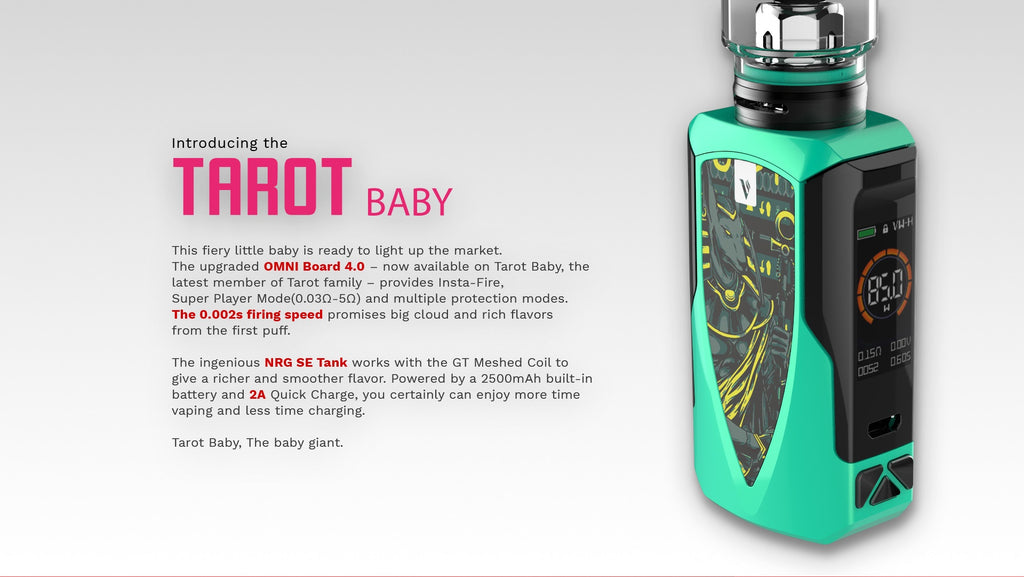 Vaporesso Tarot Baby 85W TC Kit with NRG SE 2500mAh