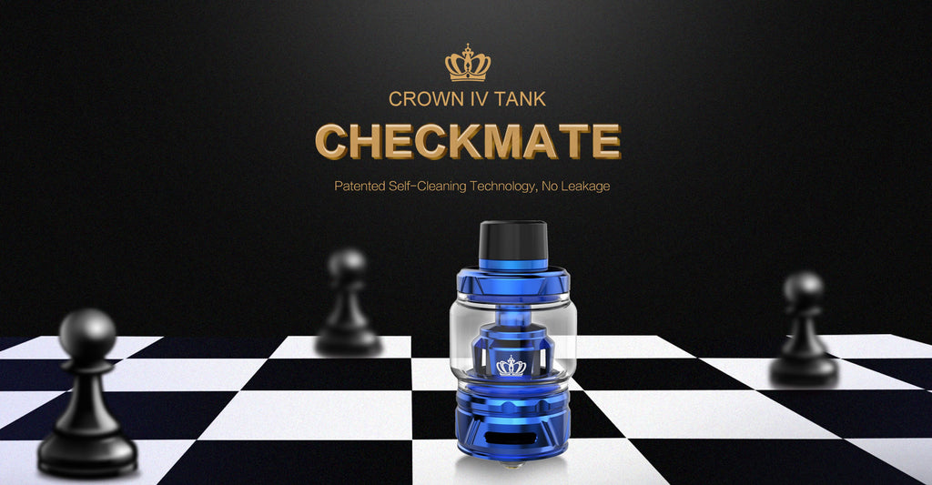 Uwell Crown 4 IV Tank - 6ml5ml