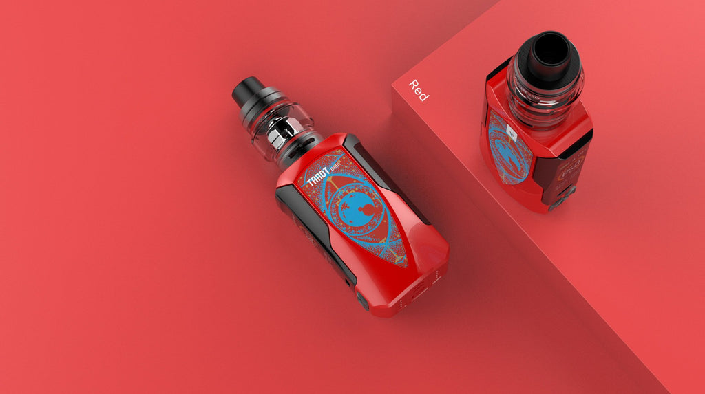 Vaporesso Tarot Baby 85W TC Kit with NRG SE Red