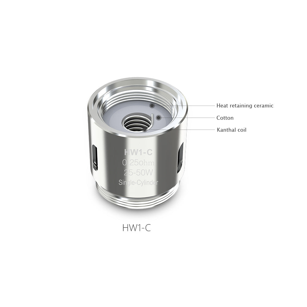 HW1-C Single-Cylinder 0.25ohm Head Specifications