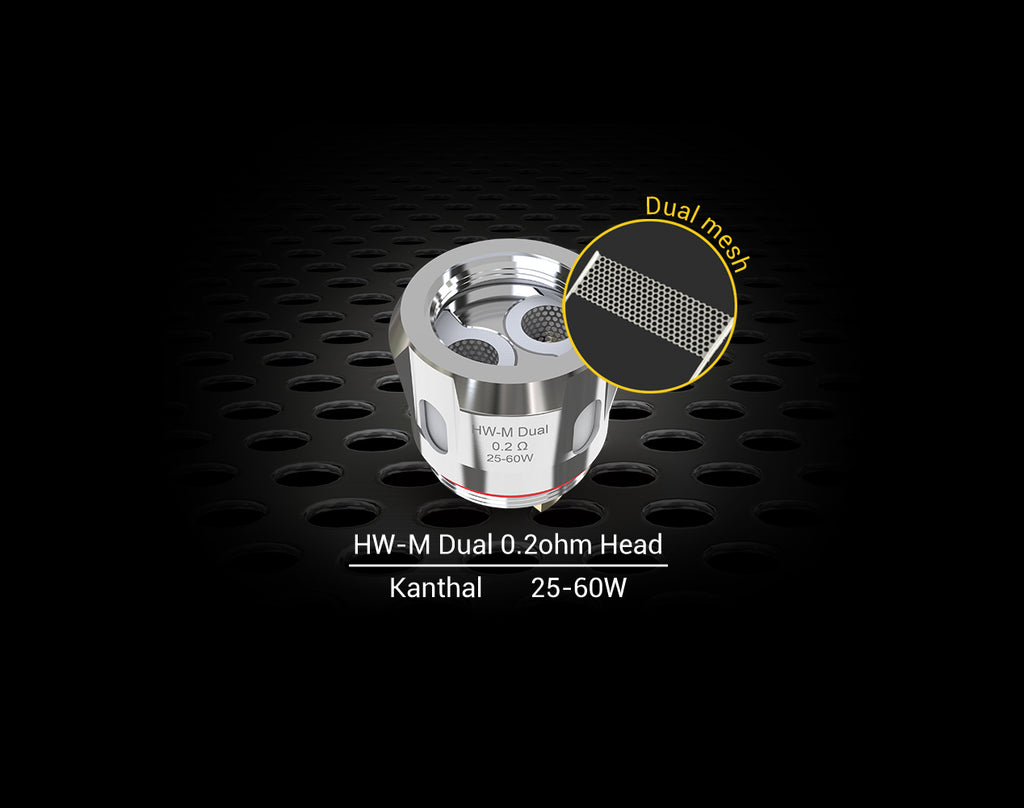 Eleaf HW-M Dual Coils for ELLO Series Dual Mesh