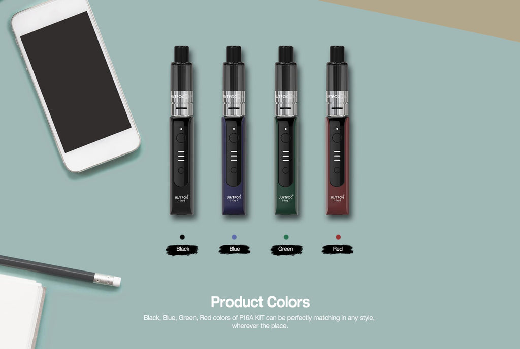 Justfog P16A Starter Kit 4 Colors Available