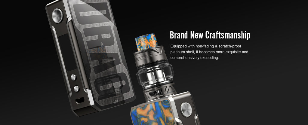 VOOPOO Drag 2 Platinum 177W TC Mod Kit Brand New Craftsmanship