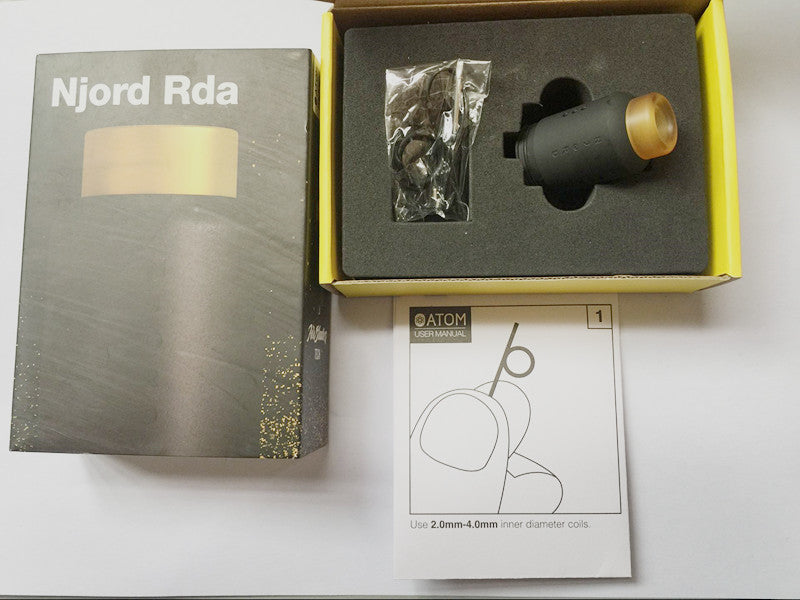 ATOM NJORD RDA Package Contents