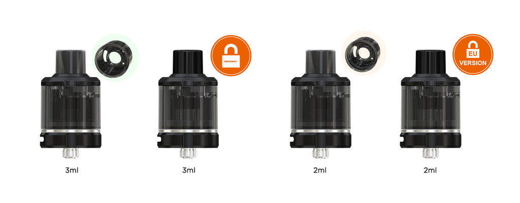WISMEC Amor NSE Atomizer Child Lock System
