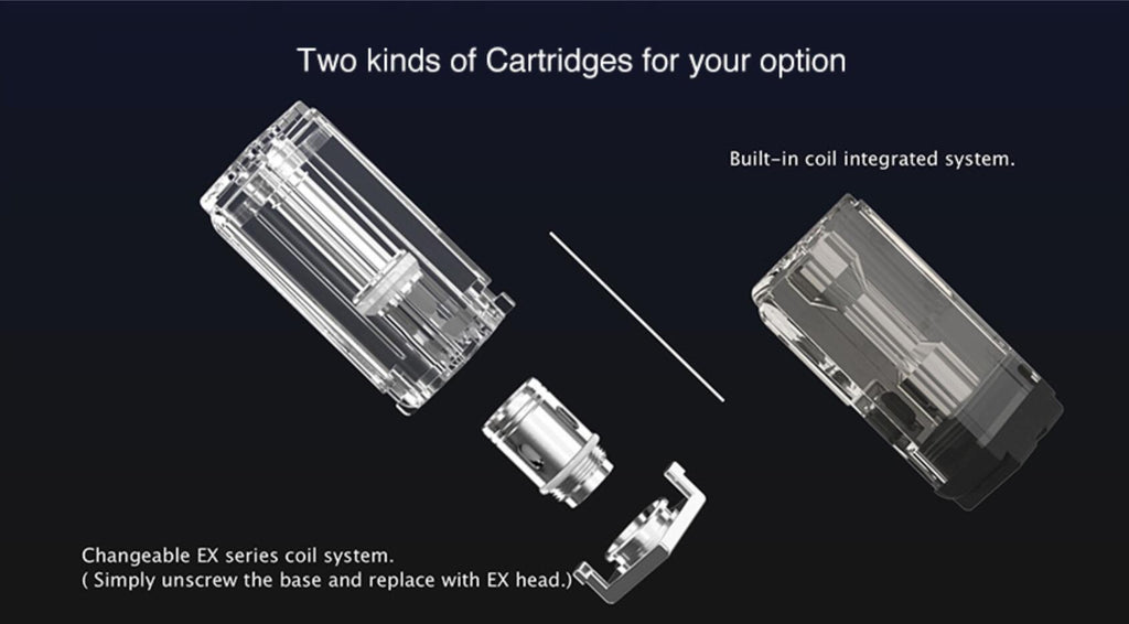 Two Kinds of Cartridges For You Option