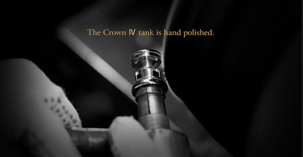 Uwell Crown 4 IV Tank Is Hand Polished