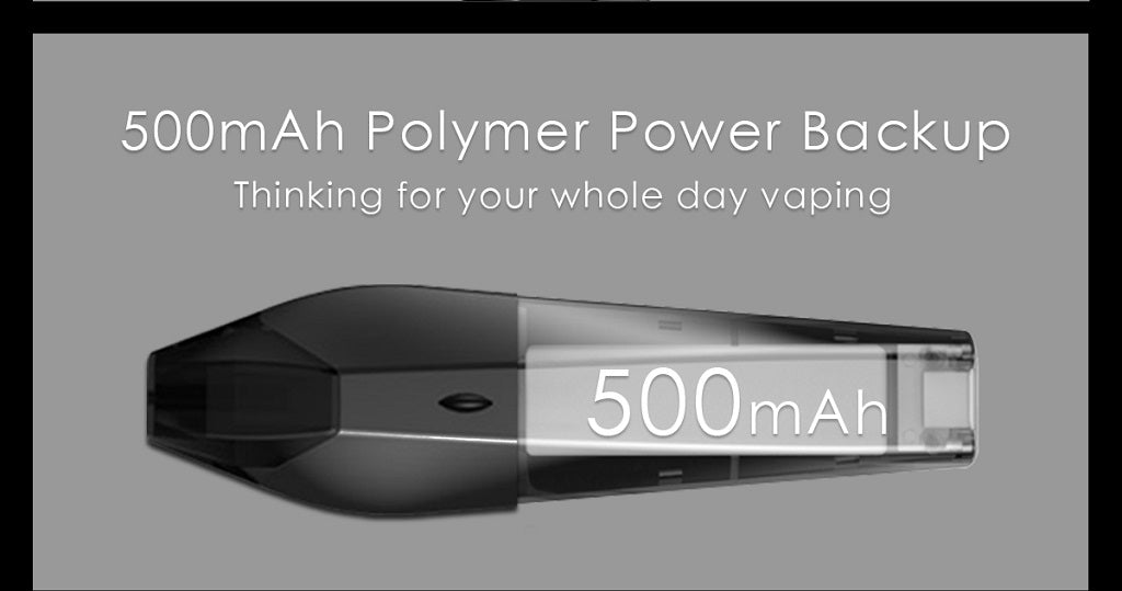 Hugo Vapor Kobra Pod Kit 500mAh Battery