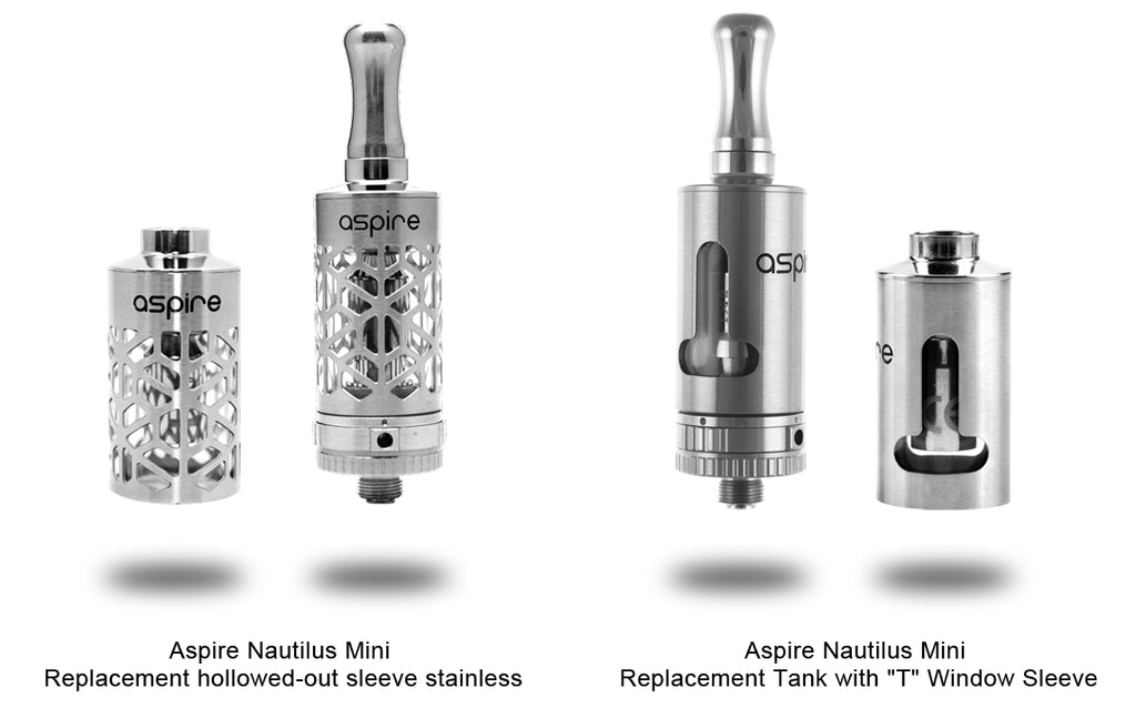 Replacement Steel Hollowing Design Tube For Aspire Nautilus Mini Tank
