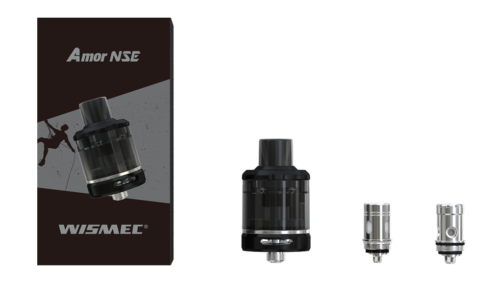 WISMEC Amor NSE Atomizer 2ml 3ml Package Includes